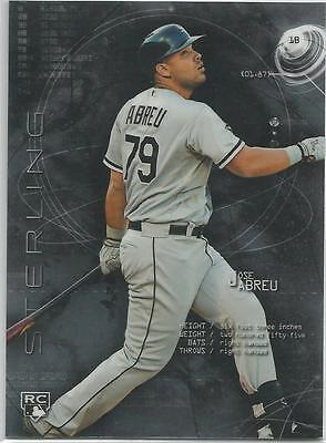2014 Bowman Chrome Jose Abreu Rookie Autograph Bcar Ja White