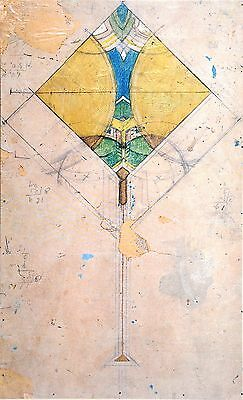 Frank Lloyd Wright Limited Ed. Lithograph 38x52 Imperial Hotel Tokyo Japan 1913