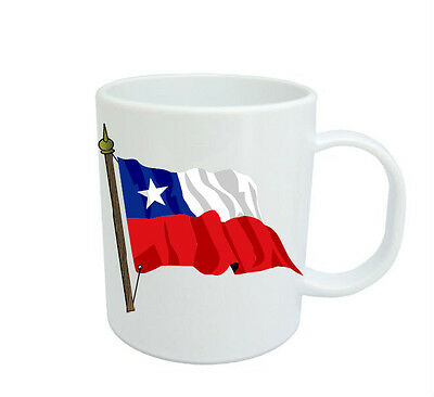 Chilean  Flag  Coffee Mug Free Personalisation  Chile