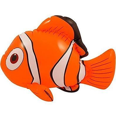 Inflatable Clown Fish Sea Fancy Dress Toy Inflate Orange Nemo 45Cm Novelty Gift