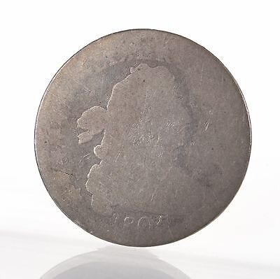 Raw 1805 Draped Bust 10C Large Size Silver Dime Uncertified Ungraded Early Coin
