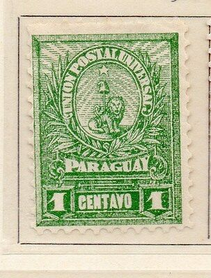 Paraguay 1901-02 Early Issue Fine Mint Hinged 1c. 154878