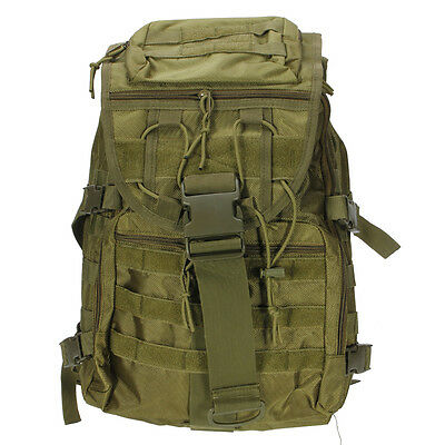Waterproof Outdoor tactical Military Backpack Travel Hiking Rucksack bag Green