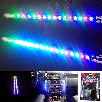 Music Rhythm Effect Control Activated Interior Neon Light Decorative Equalizer