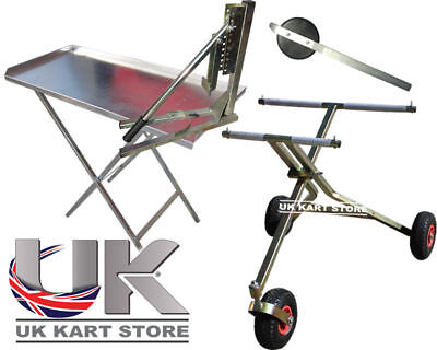 3 Wheel Trolley, Tyre Removal Tool, Work Table, Bead Breaker UK KART STORE