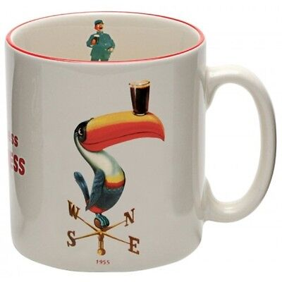 Guinness Official Merchandise Toucan Embossed Mug Cream