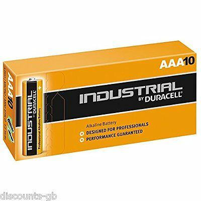 Duracell - AAA Industrial / Procell Alkaline batteries LR03 2400 - Pack of 10