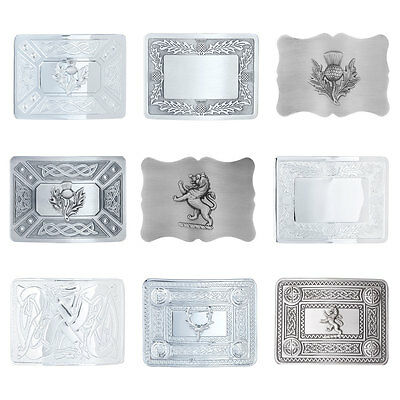 CLEARANCE Marchbrae Men's Traditional Scottish Kilt Belt Buckle Collection