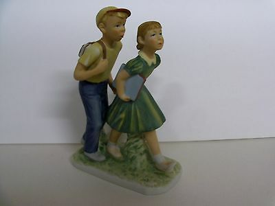Norman Rockwell DAY IN THE LIFE OF A BOY II RW-34 Figurine GORHAM