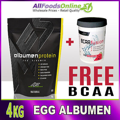 Egg Albumen - Egg White Powder - Egg Protein - Albumen Protein - Natural - 4kg