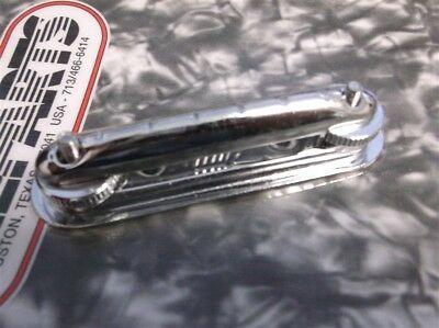 NEW - Solid Body Guitar Bridge, CHROME - Great Price!