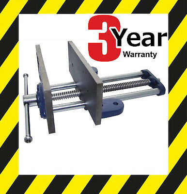 """8"""" BENCH VICE WOOD WORKERS WOODWORKING CLAMP WORK TABLE WORKSHOP 200mm WIDE"""