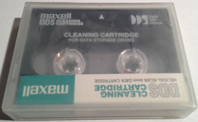 Maxell DDS 4mm Drive Cleaning Cassette