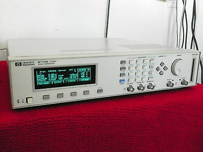 HP 8110A 150 MHz Pulse Generator w/ one 81103A Module