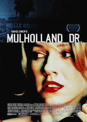 Mulholland Drive (2001) - A1/A2 Poster **BUY ANY 2 AND GET 1 FREE OFFER**