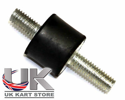 Rotax Max Genuine Evo Rubber Coil Mount 18 x 15 x M6 UK KART STORE