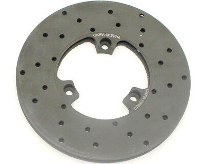 Righetti Front Brake Disc Drilled And Ventilated L/H 160mm x 12mm UK KART STORE