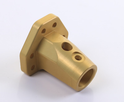 TonyKart / OTK Genuine Gold Angled Steering Boss UK KART STORE