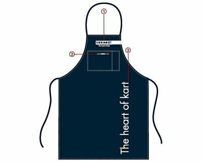 Iame Blue / Grey Racing Apron UK KART STORE