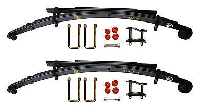 Pair of Rear Leaf Springs With Kits For Toyota Hilux LN165/LN107/KDN165 (4+2)