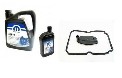 Automatic Transmission Service Kit (Filter & Atf+4) Jeep Grand Cherokee 2.7 Crd