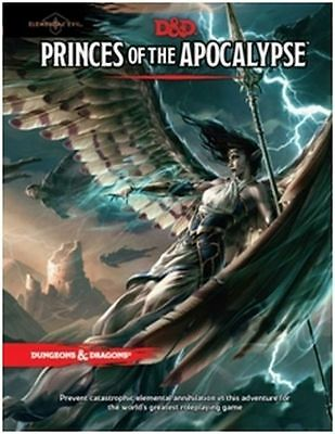Dungeons & Dragons: Princes of the Apocalypse TRPG