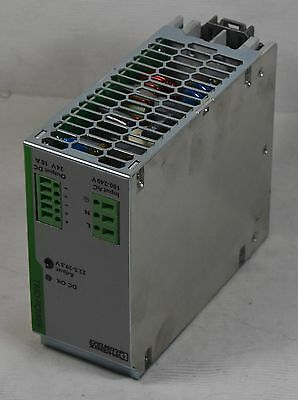 Phoenix Contact Trio DC Power Supply 240w Output 24VDC 10A Input 100-240VAC