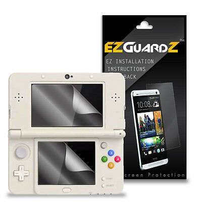 6X EZguardz Screen Protector Cover Shield 6X For Nintendo 3DS 2015 (Ultra Clear)
