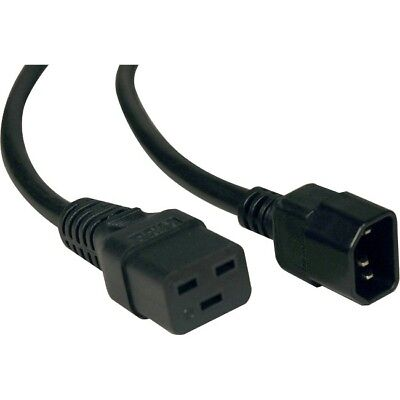 Tripp Lite 6ft Power Cord Cable C19 to C16 Heavy Duty 15A 14AWG 6' P047-006
