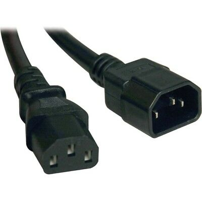 Tripp Lite 6ft Computer Power Cord Extension Cable C14 to C13 10A 18AWG 6'