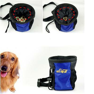 New Pet Dog Puppy Snack Obedience Training Food Nylon Treat Pouch Bags Sack W