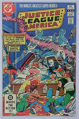 DC Comics Justice League Of America #205 1982 FN/VFN Vintage Direct Variant