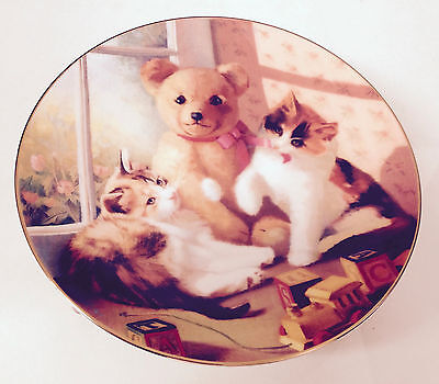 American Artists - Bearly Behaving - Collector Plate - 1991 - # 939