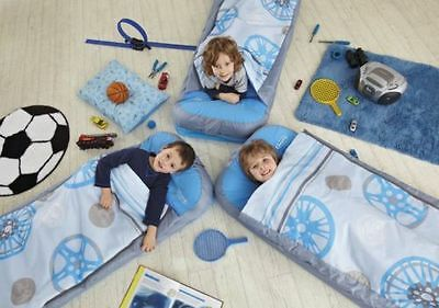 Boys Junior Generic Portable Inflatable Indoor & Outdoor Ready Bed Brand New