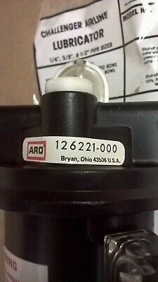 "ARO Challenger Airline Lubricator, Model 126221 000 1/4"", ""NIB"""