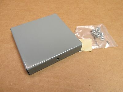 """NEW SQUARE D LDB4CP WIREWAY WIRE WAY LAY IN GUTTER 4x4"""" CAP END CLOSING PLATE"""
