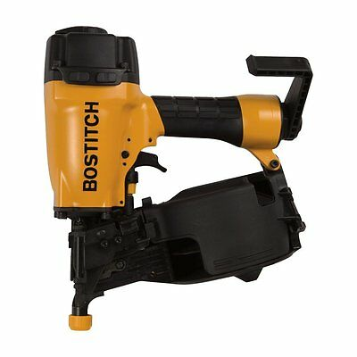 "BOSTITCH N66C-1 1 1/4"" to 2 1/2"" Coil Siding & Fencing Air Nailer Nail Gun Kit"