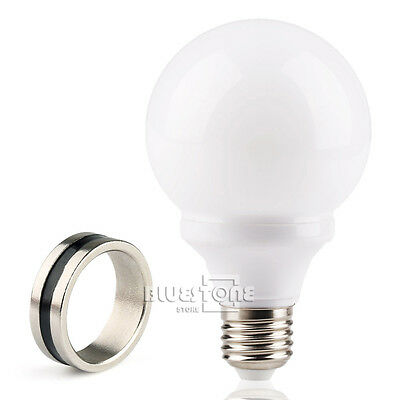 White red green color Magic Light Bulb The Magic Lamp Trick & Magnet Ring