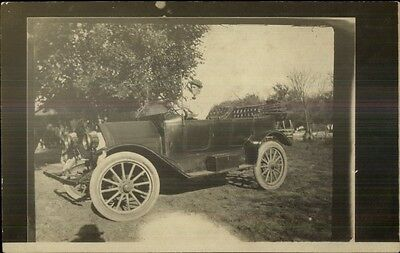 Early Car Automobile c1910 Real Photo Postcard #8