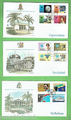 #d194. Seven 1983 Commonwealth First Day Covers