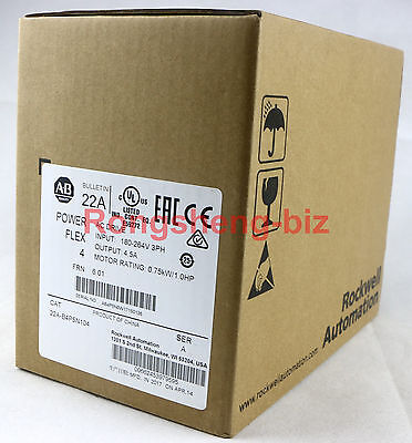 AB AC Drive 22A-B4P5N104 ( 22AB4P5N104 ) New In Box !