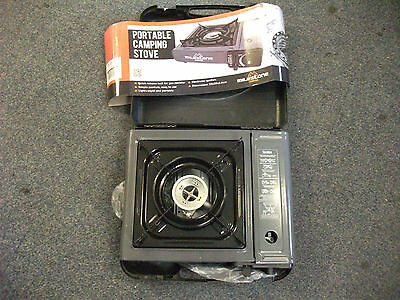 Portable Gas Camping Stove In Carry Case  Caravan/tent