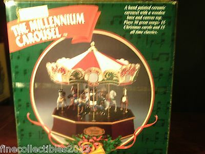 1999 Mr Christmas  *The Millennium Carousel* MINT IN BOX