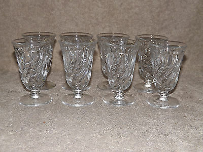Fostoria Colony 8 Footed Juice Glasses