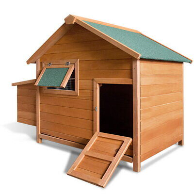 Deluxe Large Chicken Coop Pen Chook Hen Guinea Pig Hutch Rabbit Cage House Pet