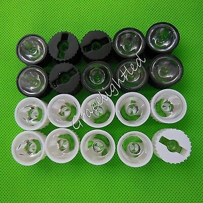5°8°15°30°60°90°120° 20mm led Len For 1W 3W 5W Hight Power LED with holder DIY