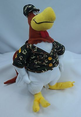 "NEN Looney Tunes 16"" Foghorn Leghorn in Military Army Fatigues Plush Stuffed Toy"