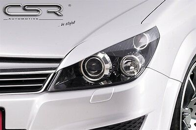 Headlight Brows Eyelids Eyebrows For The Vauxhall Astra H