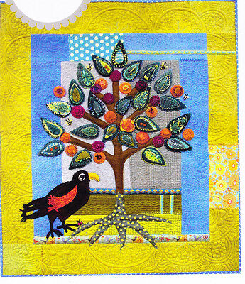 African Marula - applique wall quilt PATTERN - Sue Spargo