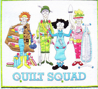 Quilt Squad - fun applique and pieced quilt PATTERN - Amy Bradley